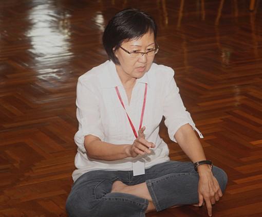 本林中文弘法团团长也是参加者之一